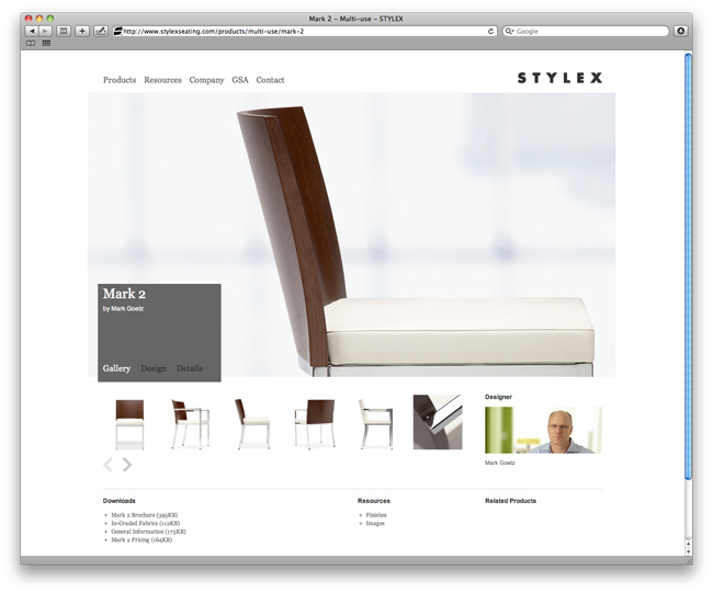Stylex Product Page