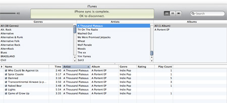 itunes old browse layout