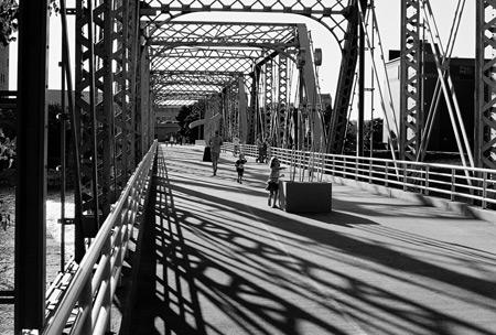 6th Street Bridge, Grand Rapids, MI - Sideview