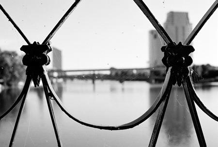 6th Street Bridge, Grand Rapids, MI - Spider Webs